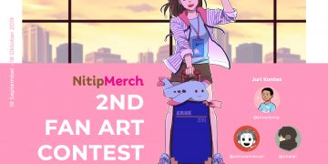 Nitipmerch Adakan Fan Art Contest