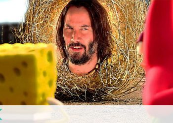 Keanu Reeves Spongebob Squarepants