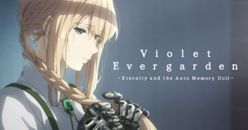 Film Violet Evergarden: Eternity and the Auto Memories Doll