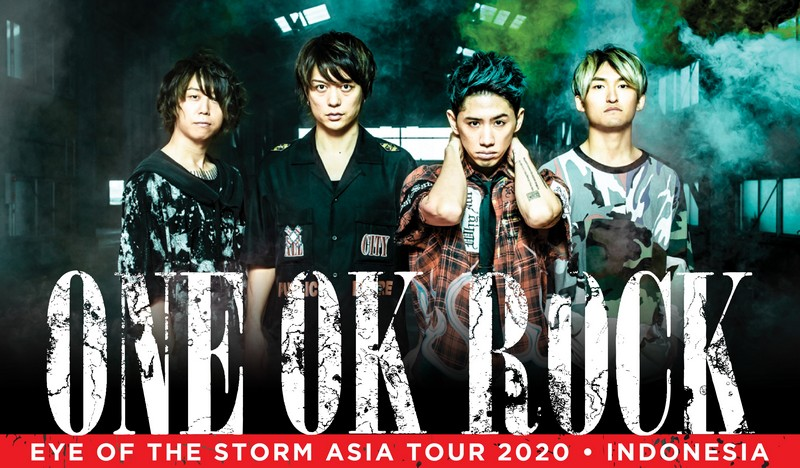 one ok rock konser header