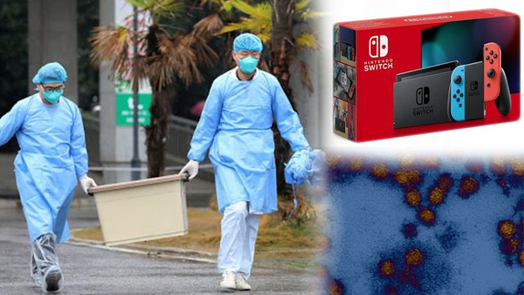 Nintendo Switch Virus Corona