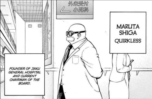 Boku no Hero Academia Manga Maruta Shiga