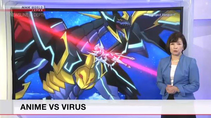 cover headline laporan nhk world anime vs virus