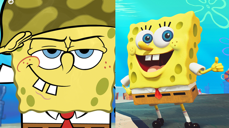 Game Spongebob Squarepants Battle for Bikini Bottom Rehydrated