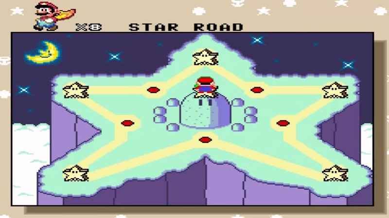 star world super mario world