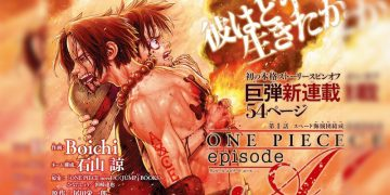 Manga One Piece Episode A Ace