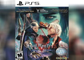 sampul game devil may cry 5 special edition