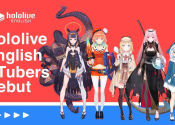 Hololive English, Hololive, Virtual Youtuber Hololive debut