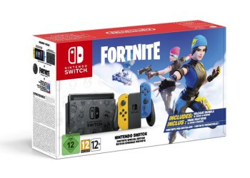 nintendo switch fortnite limited box