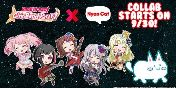 bang dream kolaborasi dengan nyan cat