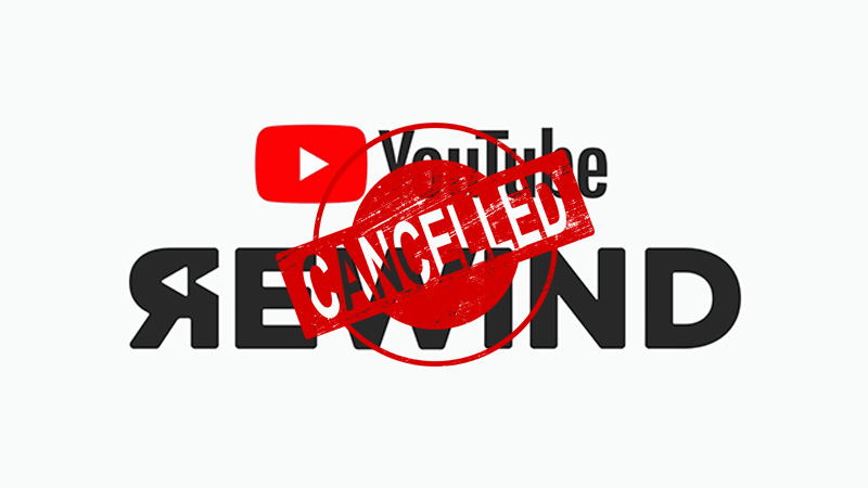 Youtube Rewind 2020 Batal Cancelled