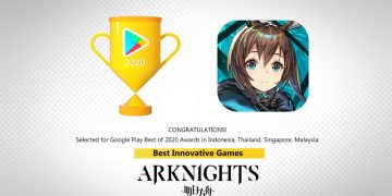 Arknights Google Play Best of 2020 Best Innovative Games